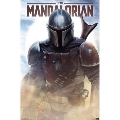 Star Wars: The Mandalorian - Battle Premium Poster