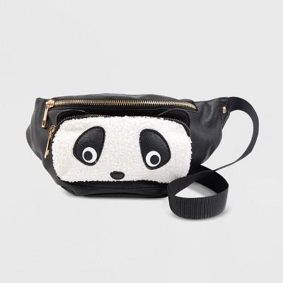 OMG! Accessories Panda Fanny Pack - Black