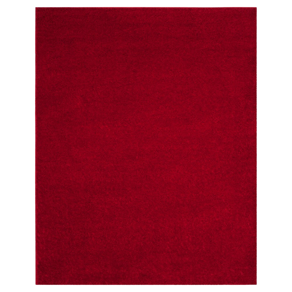 Red Solid Loomed Area Rug - (8'X10') - Safavieh