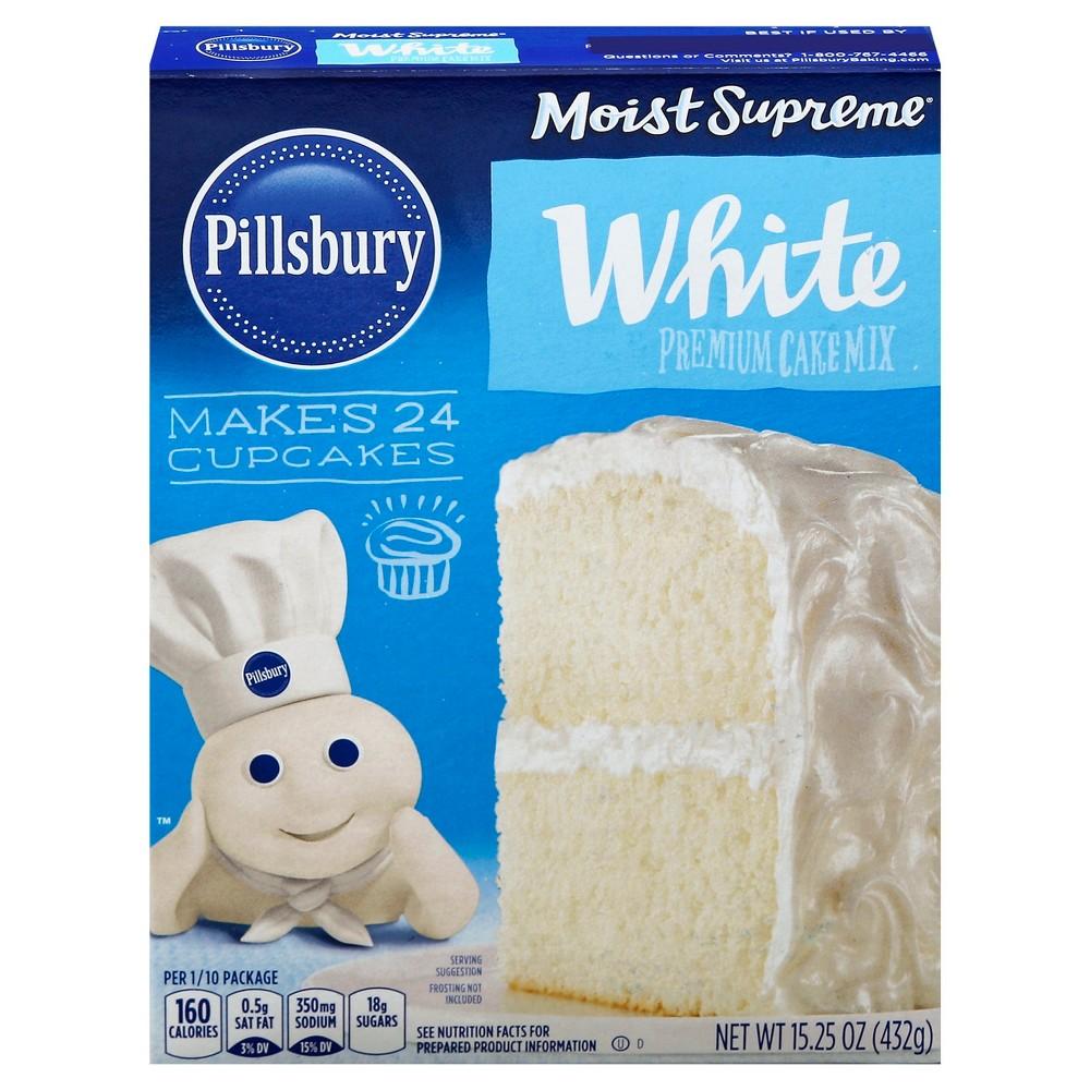 Pillsbury White Cake Mix - 15.25oz