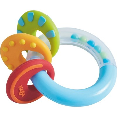HABA Nobbi Silicone Teether and Clutching Toy