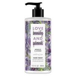 Love Beauty & Planet Argan Oil & Lavender Hand Soap - 13.5oz