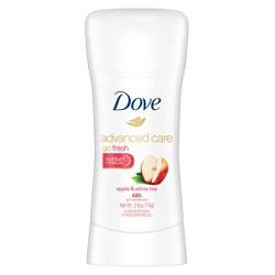 Dove Go Fresh Apple & White Tea Invisible Solid Antiperspirant & Deodorant - 2.6oz