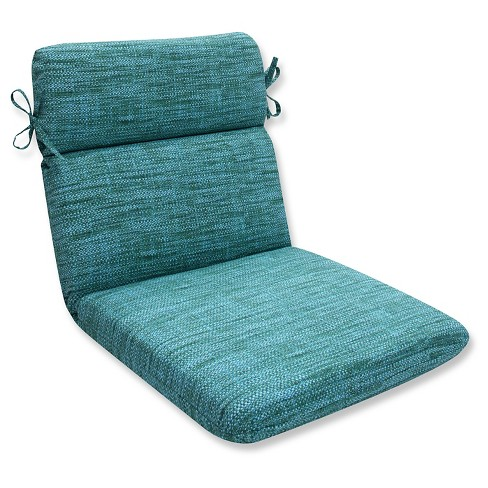 Pillow Perfect Remi Lagoon Outdoor One Piece Seat And Back Cushion - Blue - image 1 of 1