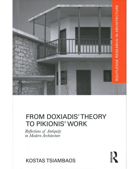 From Doxiadis' Theory to Pikionis' Work : Reflections of Antiquity in Modern Architecture (Hardcover) - image 1 of 1