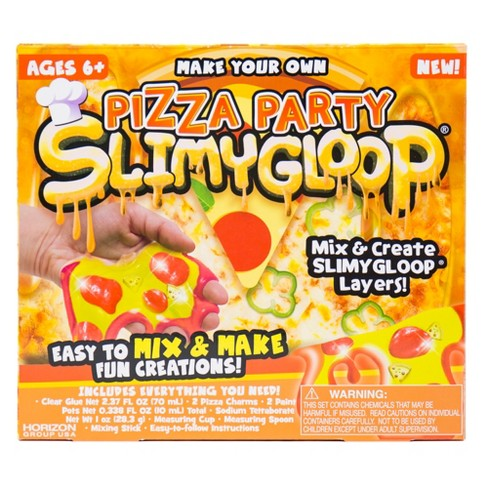 Make Your Own Pizza Party SLIMYGLOOP - image 1 of 4