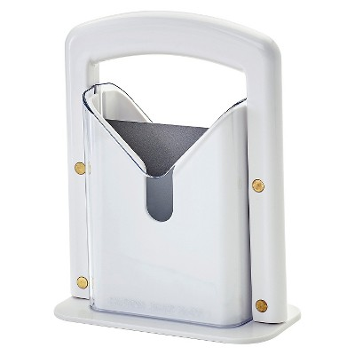 Hoan™ Bagel Cutter Guillotine White