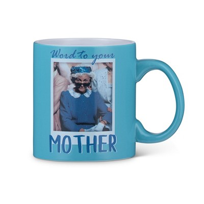 Silver Buffalo The Golden Girls Coffee Mug | Sophia Word To Your Mother | Holds 20 Ounces
