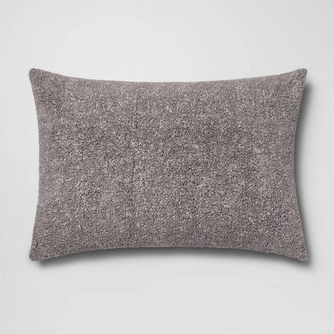 Standard Sherpa Pillow Cover - Room Essentials™ - image 1 of 2