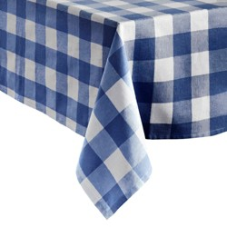 Farmhouse Living Buffalo Check Tablecloth Collection - Elrene Home Fashions