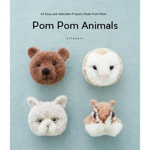 POM POM Animals - by  Trikotri (Paperback) - image 1 of 1