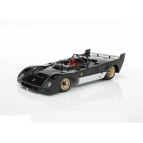 Ferrari 312 P 312P Prototype Black 1/18 Diecast Car Model by GMP - image 1 of 4