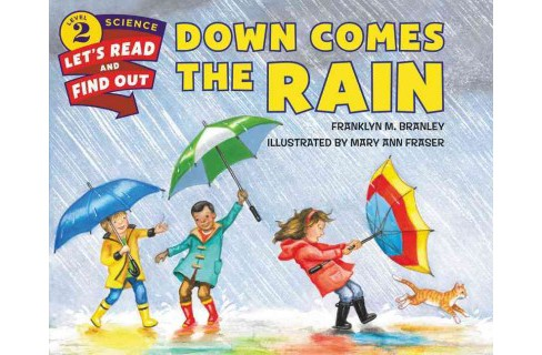 Down Comes the Rain (School And Library) (Franklyn Mansfield Branley) - image 1 of 1