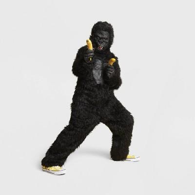Kids' Deluxe Gorilla Halloween Costume Jumpsuit with Mask - Hyde & EEK! Boutique™
