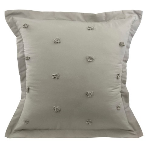 Gray Cersei Pillow Sham (Euro) - Vue - image 1 of 1