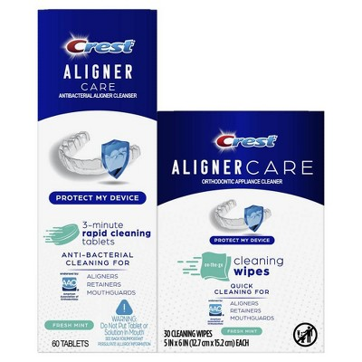 Crest Aligner Care Rapid Denture Cleaning Kit - 2ct