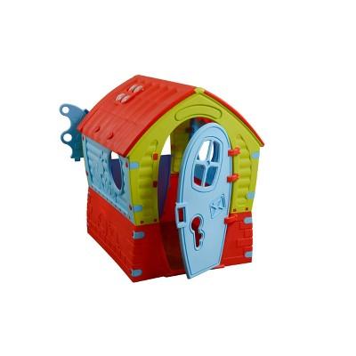 PalPlay Dream House - Red /Blue/Green
