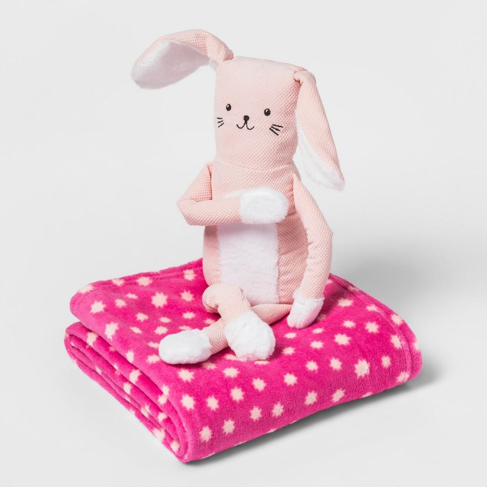 Bunny Throw Buddy - Pillowfort, Pink