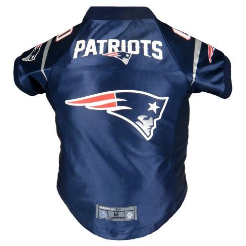 reputable site 7738c 4366e New England Patriots Little Earth Pet Premium Football Jersey - Navy 4XL