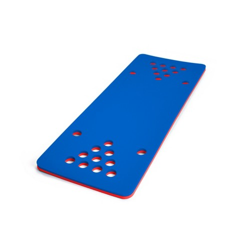 Floatation iQ HydraPong Pong Floating Swimming Pool Water Lake Party Game Foam Board Mat Pad, Red/Blue - image 1 of 4