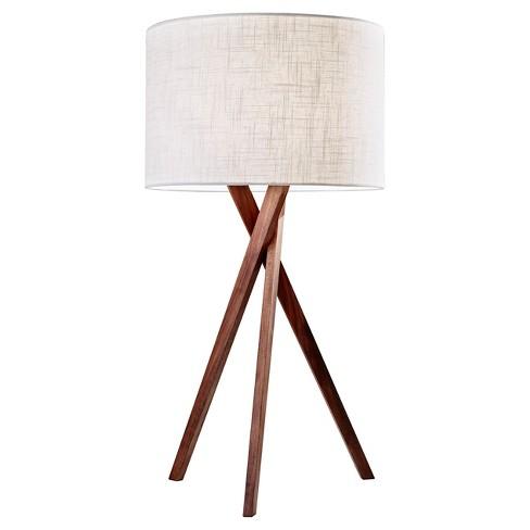 Adesso Brooklyn Table Lamp Brown Target