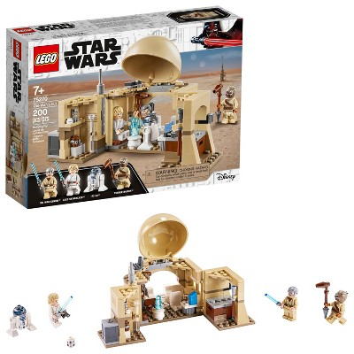 LEGO Star Wars: A New Hope Obi-Wan's Hut Starter Set for Young Kids 75270