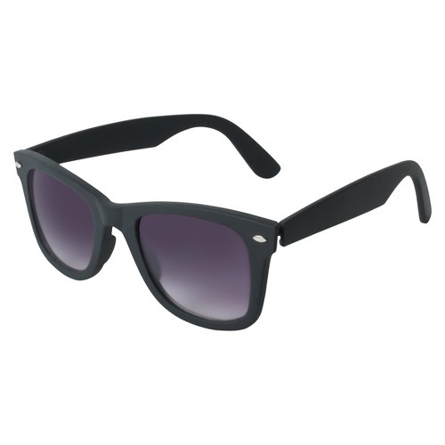 Women's Surf Sunglasses - A New Day Black, Adult Unisex, Size: Small, Black/Blue