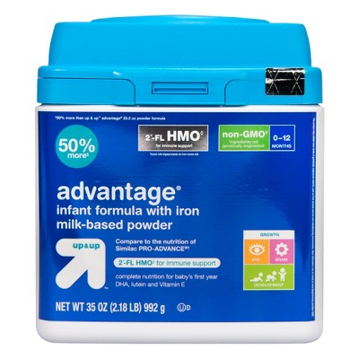 Advantage HMO Infant Formula - 35oz - (Compare to Similac PRO-ADVANCE)- Up&Up™