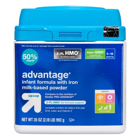 Advantage HMO Infant Formula - 35oz - (Compare to Similac PRO-ADVANCE) - Up&Up™ - image 1 of 4