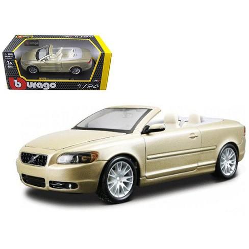Volvo C70 Convertible >> Volvo C70 Convertible Gold 1 24 Diecast Car Model By Bburago
