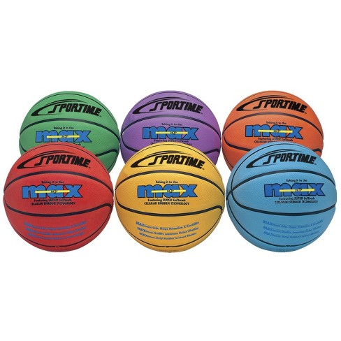 SportimeMax Junior Basketballs, 27 Inches, Multiple Colors, set of 6 - image 1 of 1