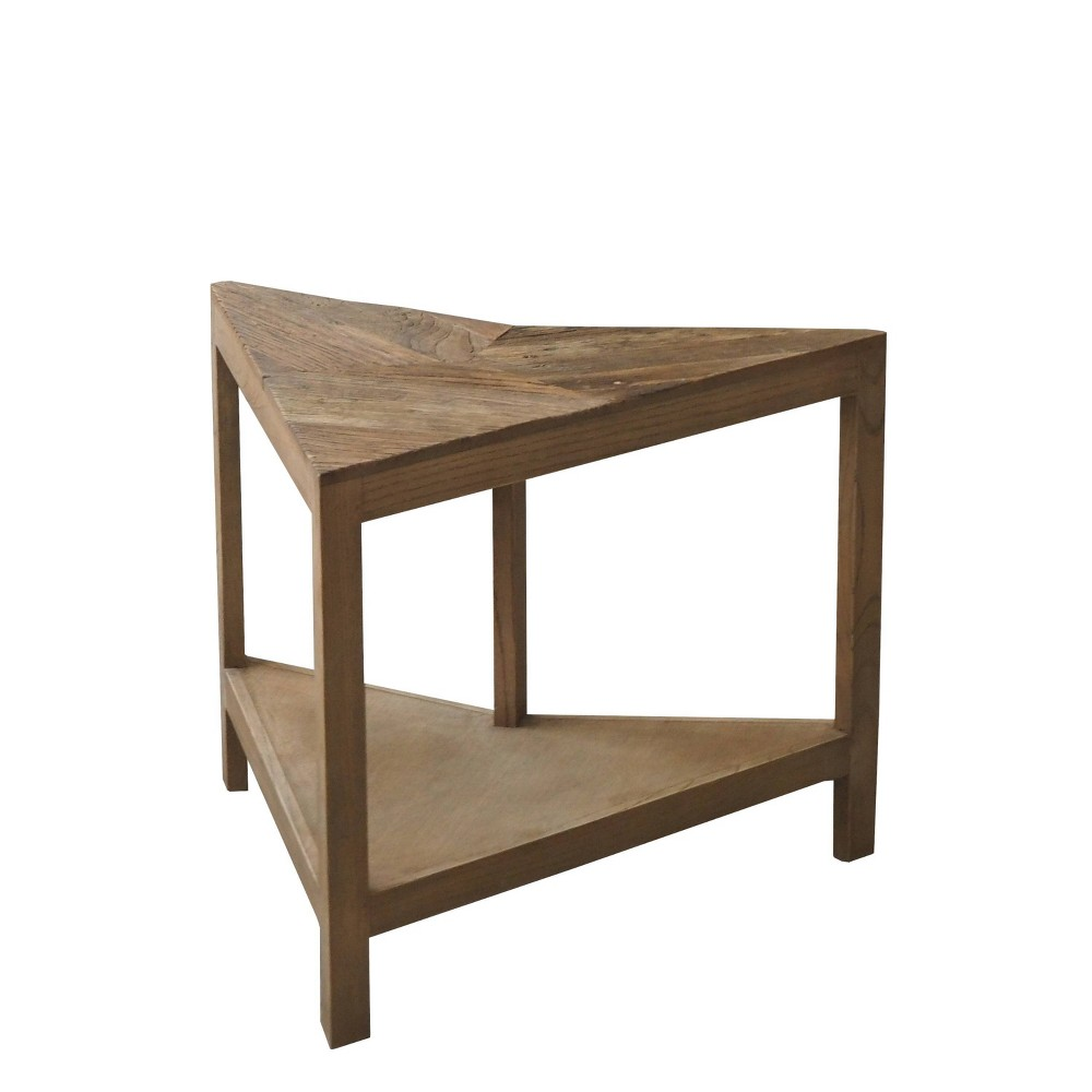 "Image of ""18"""" Burnham Home Designs James Corner Table Natural Elm - Boraam"""