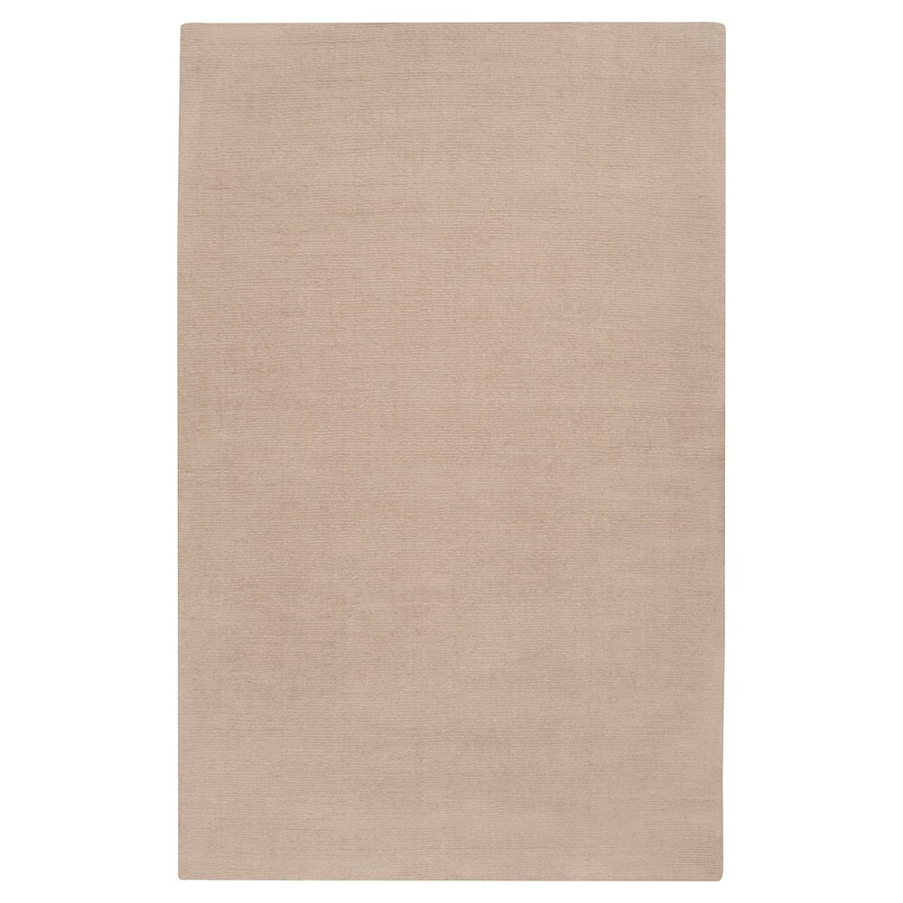 Taupe Brown Solid Loomed Area Rug - (12'X15') - Surya