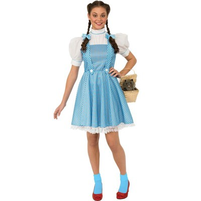 The Wizard of Oz The Wizard of Oz Dorothy Halloween Sensations Adult Costume