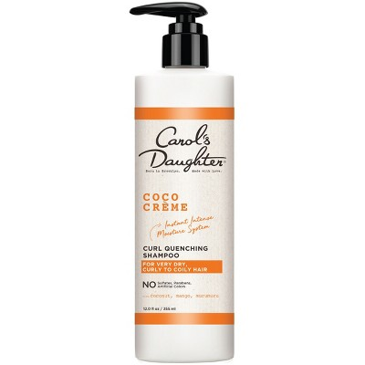 Carol's Daughter Coco Crème Curl Quenching Shampoo with Coconut Oil for Very Dry Hair -12 floz
