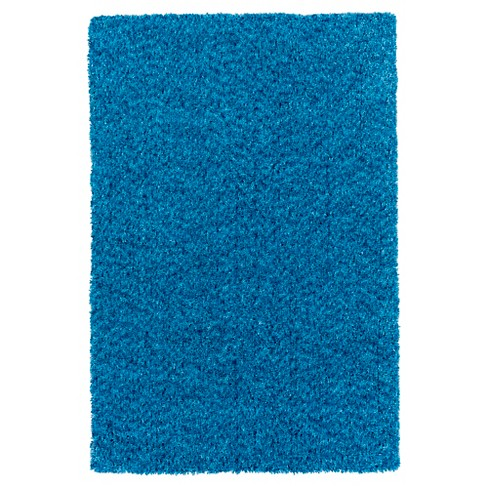 Bright Blue Alane Kid's Accent Rug (2'x3') - Surya® - image 1 of 1