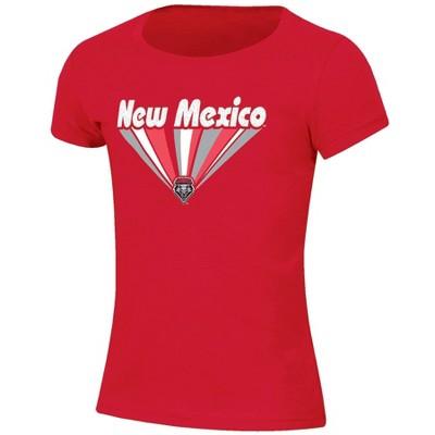 NCAA New Mexico Lobos Girls' Short Sleeve Scoop Neck T-Shirt