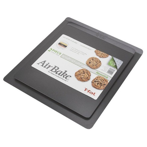 AirBake 14x12 in and 16x14 in Nonstick 2-Pack Cookie Sheet Set - image 1 of 1