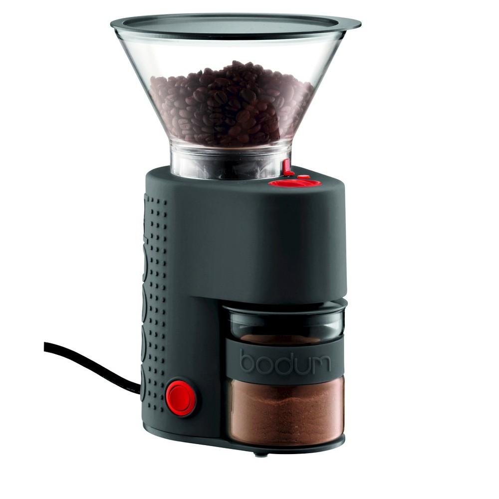 Bodum Bistro Burr Coffee Grinder, Black