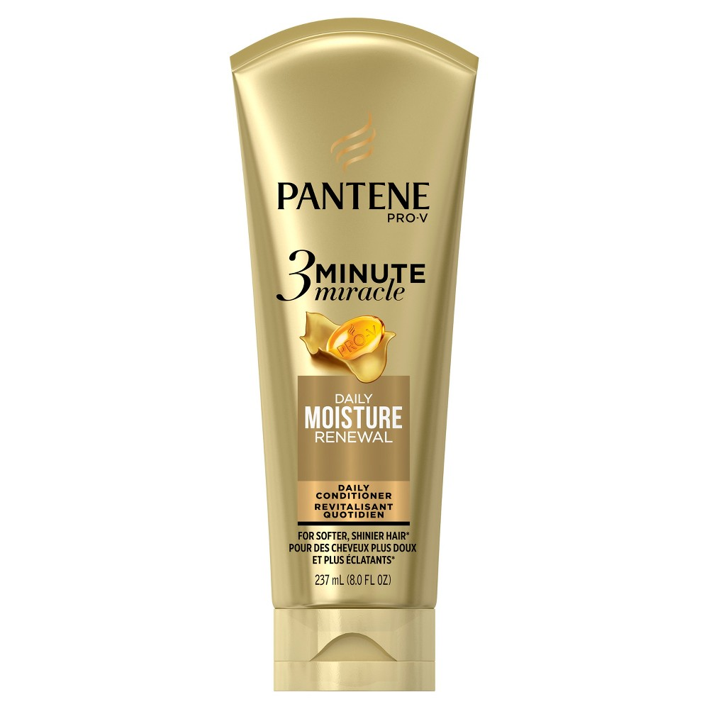 Image of Pantene Pro-V 3 Minute Miracle Moisture Renewal Daily Conditioner - 8 fl oz