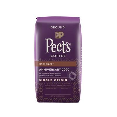 Peet's Anniversary Blend Dark Roast Ground Coffee - 10oz
