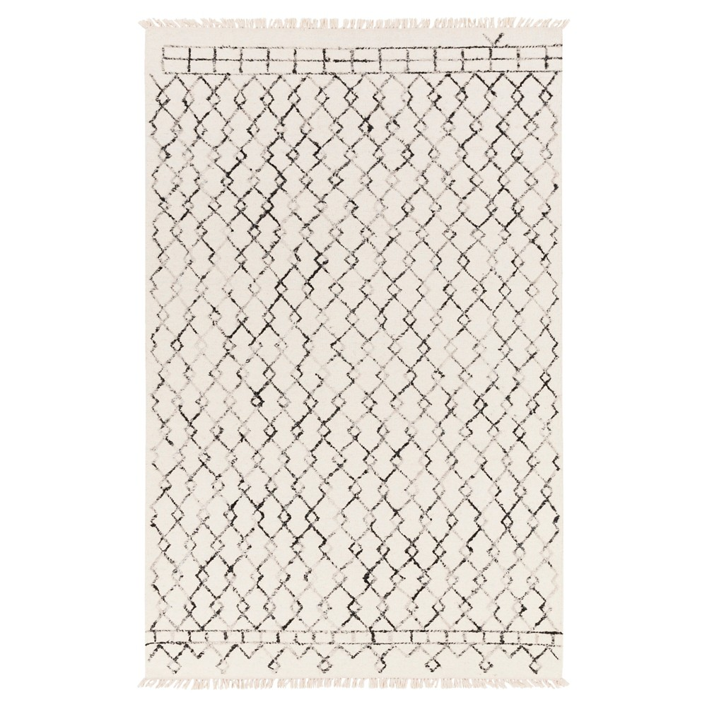 Tan/Cream (Tan/Ivory) Solid Woven Area Rug - (8'X10') - Surya