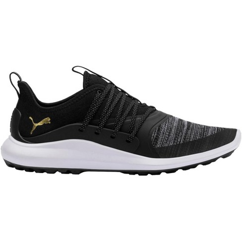 About this item. Details. Shipping   Returns. Q A. PUMA IGNITE NXT SOLELACE  Spikeless Golf Shoes Black Team Gold ... 4900d705b