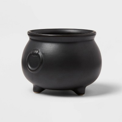 12oz Stoneware Cauldron Candy Bowl - Threshold™