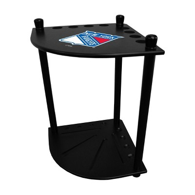 NHL New York Rangers Corner Cue Rack