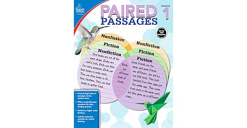 Paired Passages Grade 1 (Paperback) - image 1 of 1