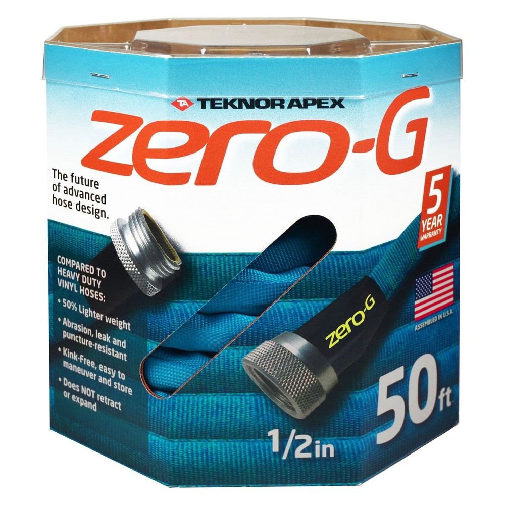 1/2 x 50' Teknor Zero-G Hose, Blue