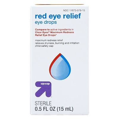 Red Eye Max Relief Drops - 0.5 fl oz - up & up™