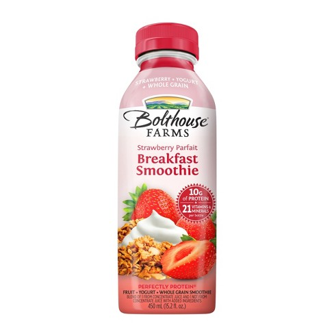 Bolthouse Strawberry Parfait Breakfast Smoothie - 15.2oz - image 1 of 5