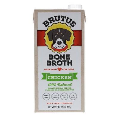 Brutus Bone Broth Hip & Joint Formula Wet Dog Food - Supplement - Chicken - 32oz